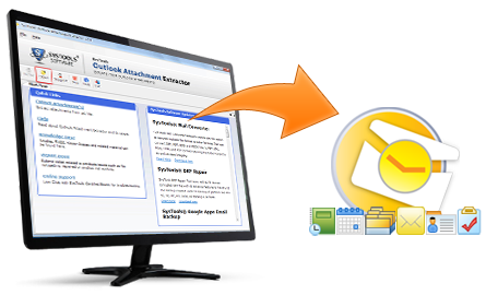 how to download email attachments from outlook